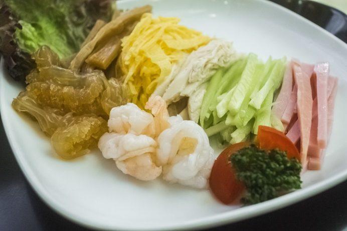 中国料理館 会楽園(長崎中華街)の冷やし中華