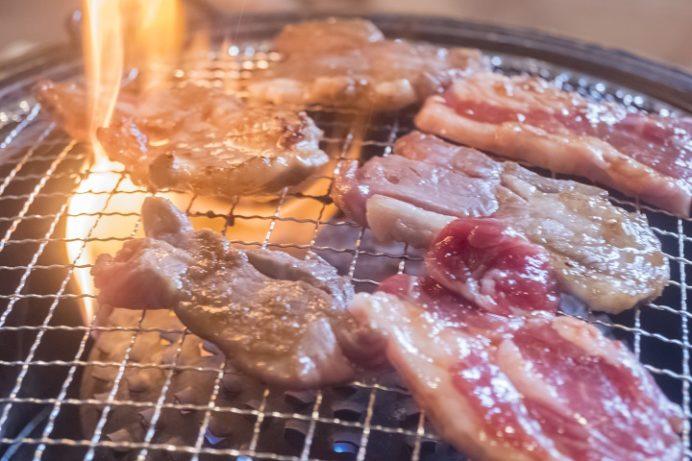 鳥むら食堂(諫早市川床町)のラム肉ジンギスカンランチ