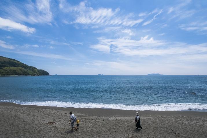 「雪浦海浜公園」(西海市)【無料の駐車場あり!海水浴には?】
