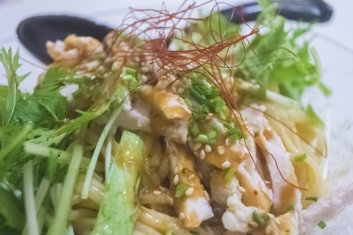 長崎燒小籠包 チャイデリカ(長崎中華街そば)の棒々鶏涼麺