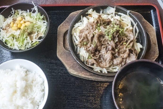 焼肉おがわ(諫早市松里町)の焼肉定食