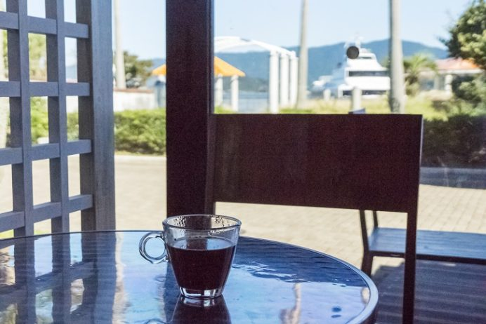 伊王島の港カフェ(i+Land nagasaki)