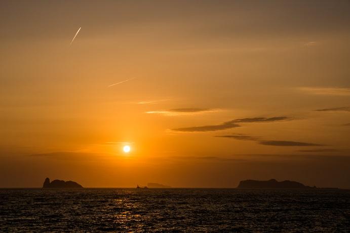 大野浜海浜公園(長崎市外海の夕日)