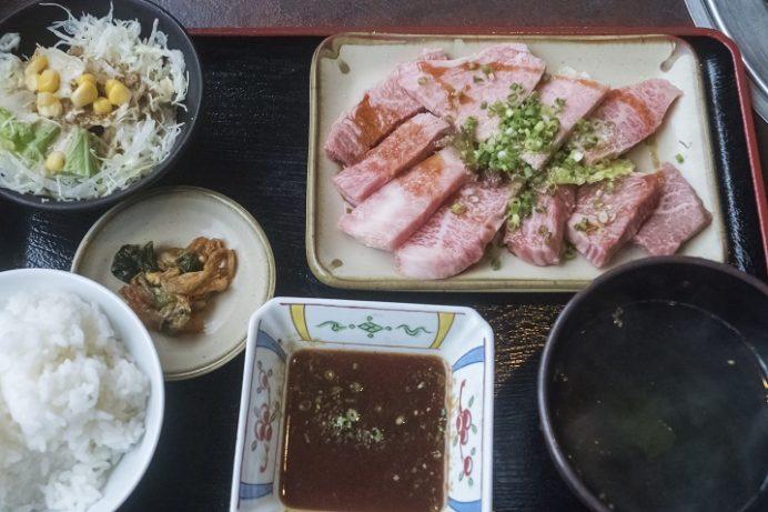 焼肉おがわ(諫早市松里町)のBランチ