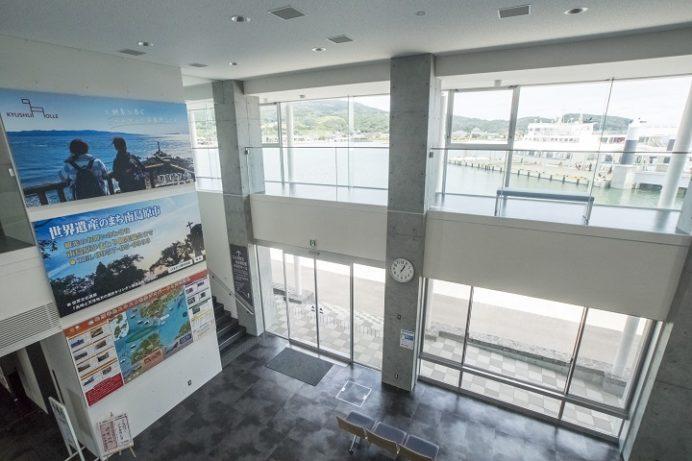 口之津港ターミナル(南島原市)