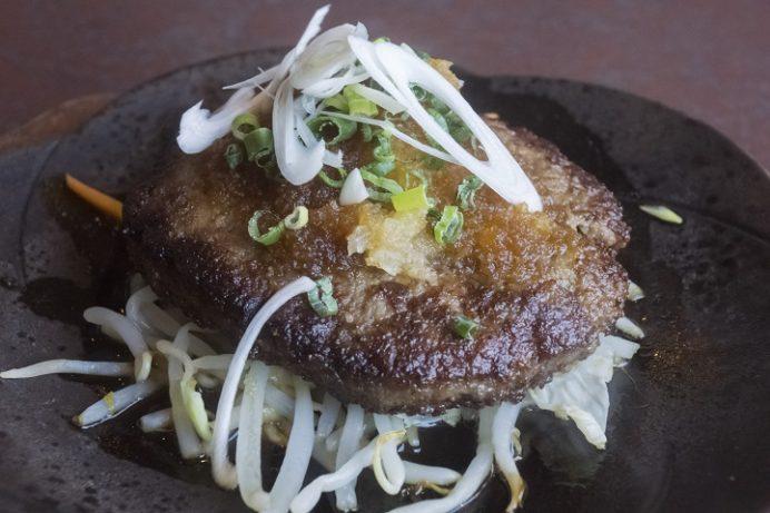 焼肉おがわ(諫早市松里町)の和風ハンバーグ定食