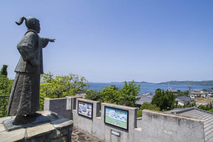 中浦ジュリアン記念公園(西海市西海町中浦南郷)