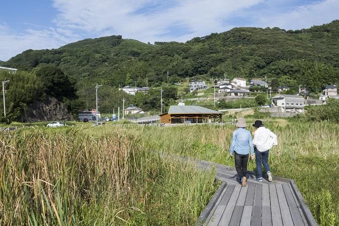 黒崎永田湿地自然公園(長崎市永田町外海地区)