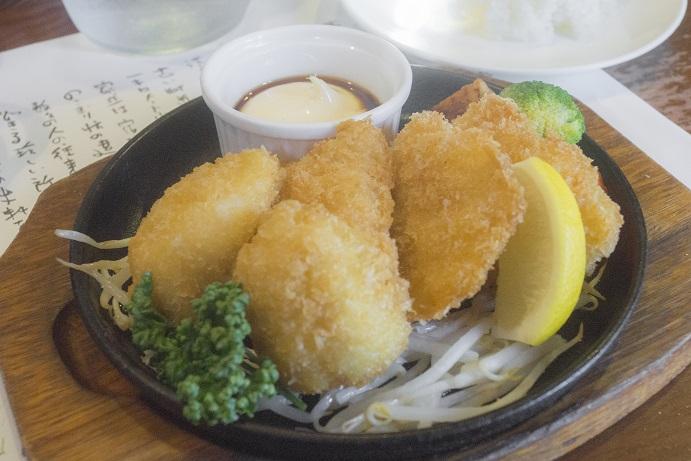 ぎゅう丸茶寮諫早店(長崎県諫早市鷲崎町)の魚フライ