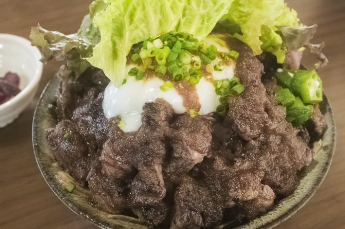 洋ごはん りょぞぶふ(諫早市小野町)のステーキ丼