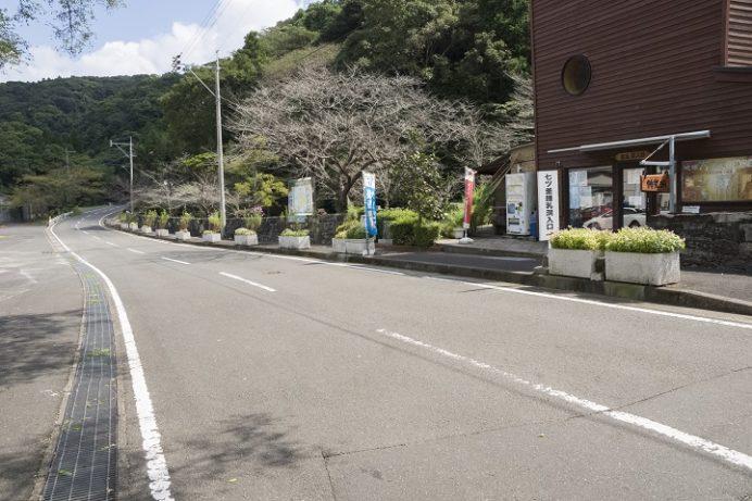 長尾城跡公園(長崎県西海市)の行き