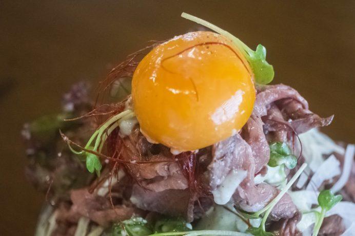 洋ごはん りょぞぶふ(諫早市小野町)のローストビーフ丼