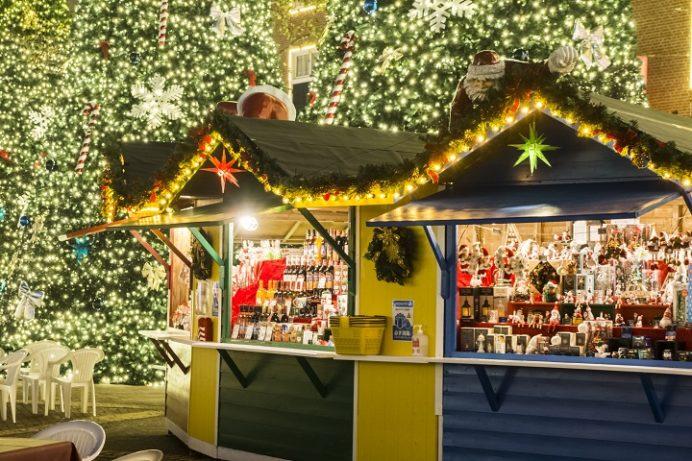ハウステンボスのクリスマス(イルミネーション、光の王国)