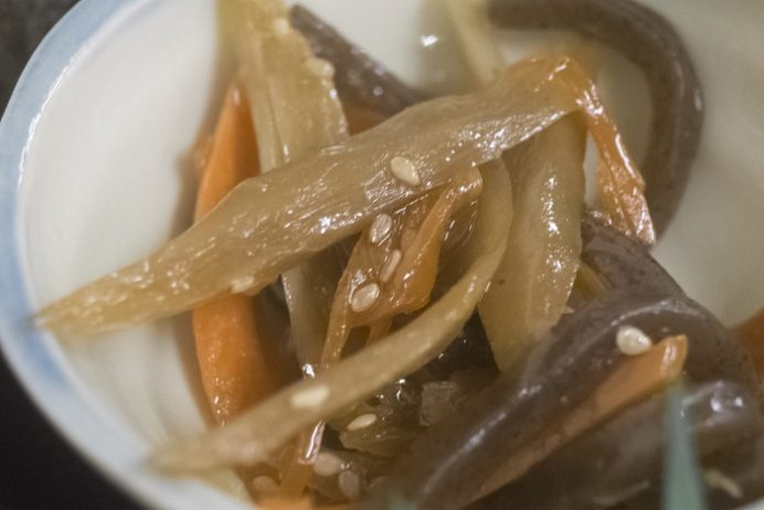 浜康 (濱中水産)、長崎市新大工町の刺身盛り合せ定食