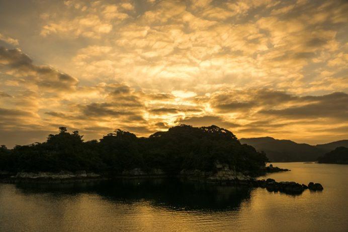 九十九島遊覧船・パールシーリゾート(長崎県佐世保市)、初日の出クルーズ