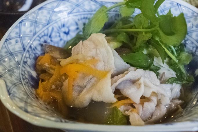 山の寺 邑居(南島原市深江町)のほうじゅ豚鍋