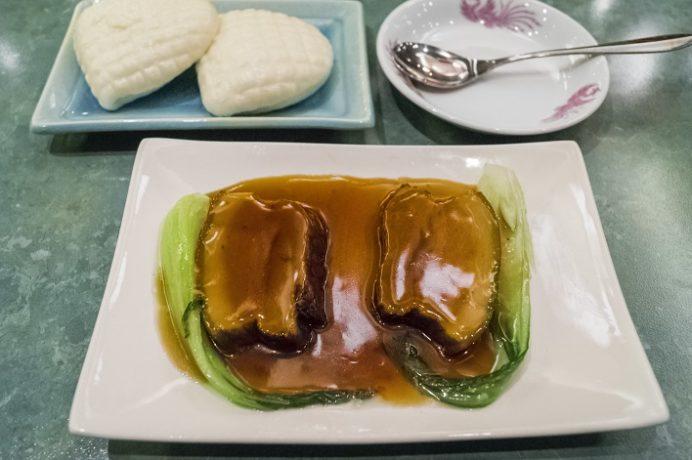 中国菜館 慶華園(長崎県長崎市麹屋町)の角煮まんじゅう