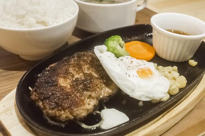 meat sukky(ミートスッキー)長崎眼鏡橋店、ハンバーグ