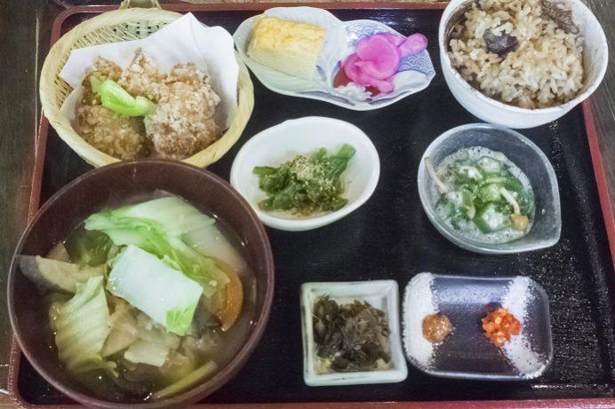 山の寺 邑居(南島原市深江町)のだご汁定食