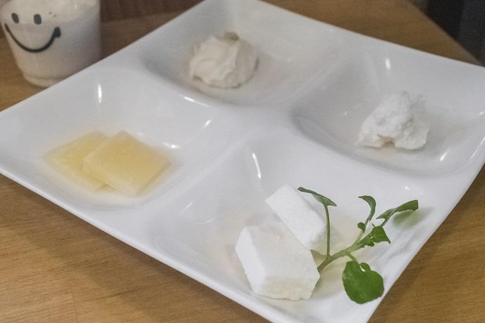 Pine Tail Farm(パインテールファーム)、雲仙市小浜町のチーズ盛り合せ