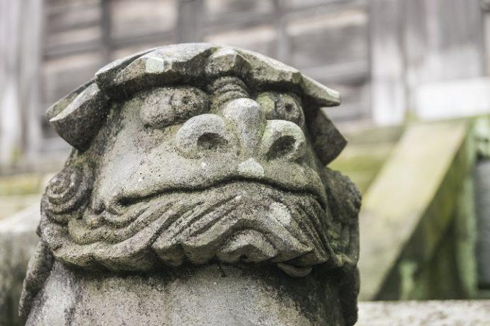 鎮西大社 諏訪神社(長崎市上西山町)の河童