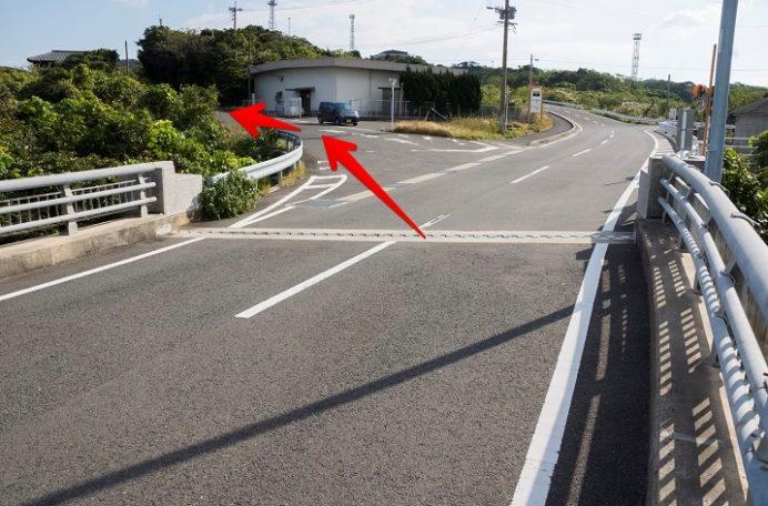 お魚バス停(西海市崎戸町)