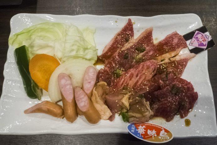 焼肉りん(YAKINIKU-Rin)、長崎市城山町、焼肉ランチAセット