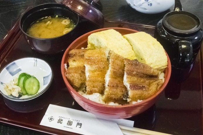 うなぎ・割烹 北御門(諫早市八天町)の鰻福丼