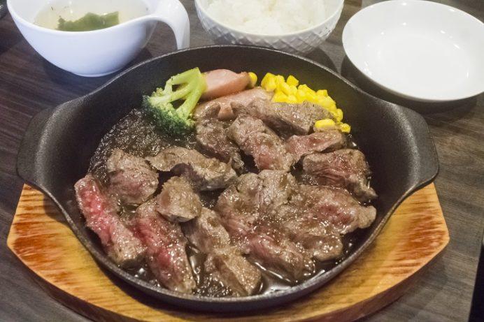 焼肉りん(YAKINIKU-Rin)、長崎市城山町、みすじステーキランチ