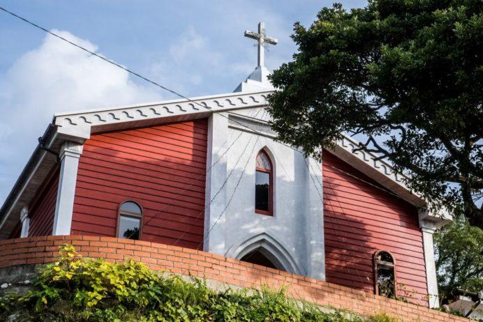 善長谷教会(長崎市大籠町)