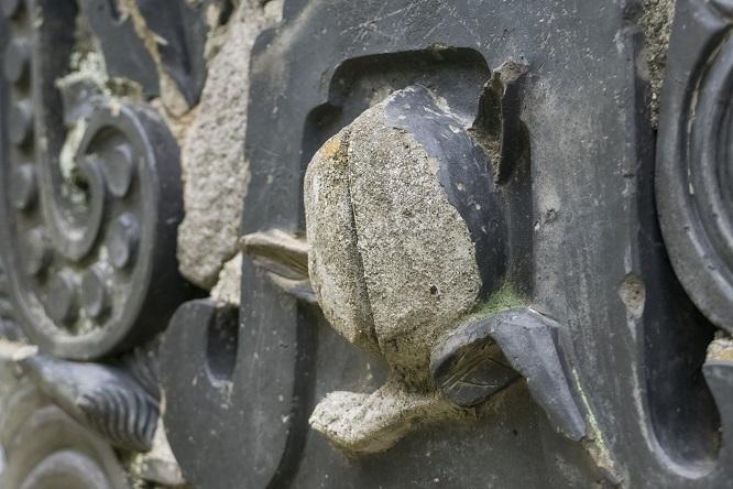 万寿山 聖福寺(長崎市玉園町)、瓦塀
