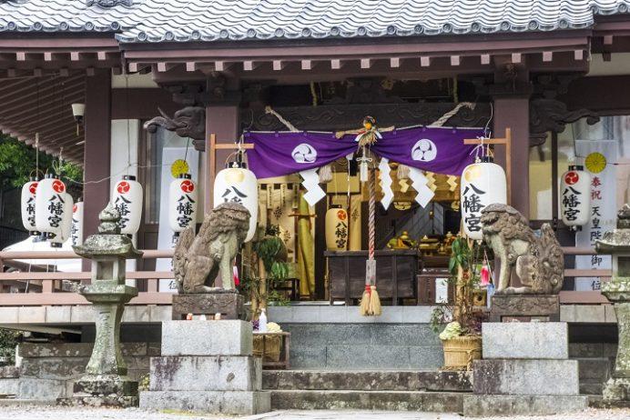 中川八幡神社(長崎市中川)の初詣