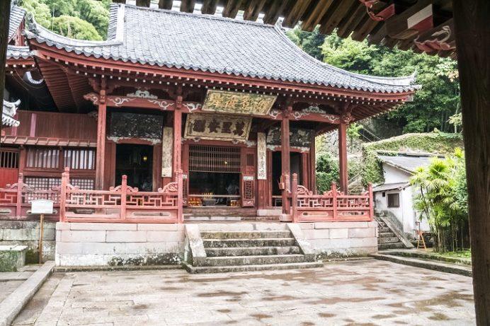 崇福寺(長崎市鍛冶屋町)の媽祖堂