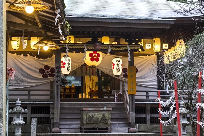 松森天満宮(松森神社)、長崎市上西山町の初詣