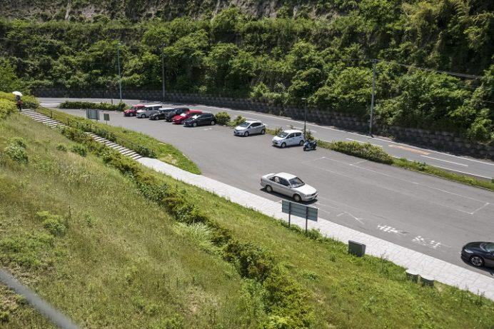 女神大橋(長崎市西泊町)の駐車場