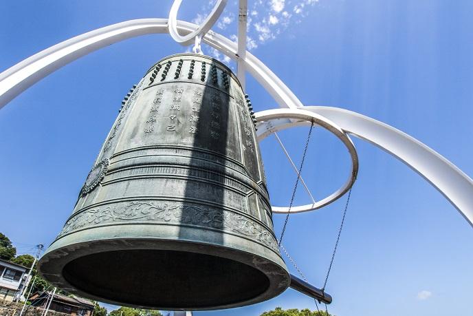 福済寺(長崎市筑後町)、鎮魂の鐘