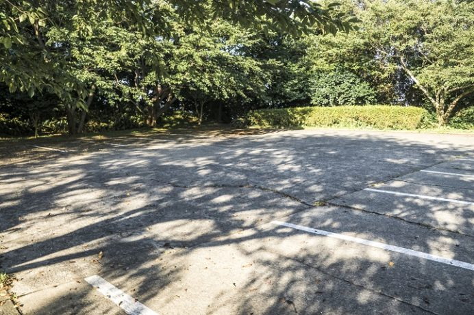 樺島灯台公園(長崎市)の駐車場