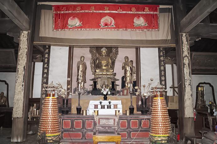 万寿山 聖福寺(長崎市玉園町)、大雄宝殿(本殿)