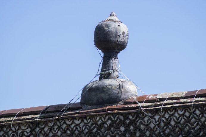 万寿山 聖福寺(長崎市玉園町)、大雄宝殿(本殿)、寳瓶(ほうびん)