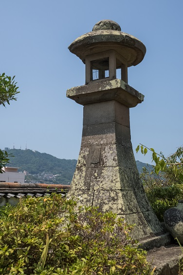 福済寺(長崎市筑後町)、常夜燈