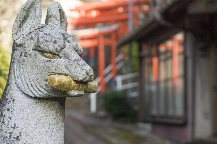 松嶋稲荷神社(長崎市本川内)、長崎11社スタンプラリー2021