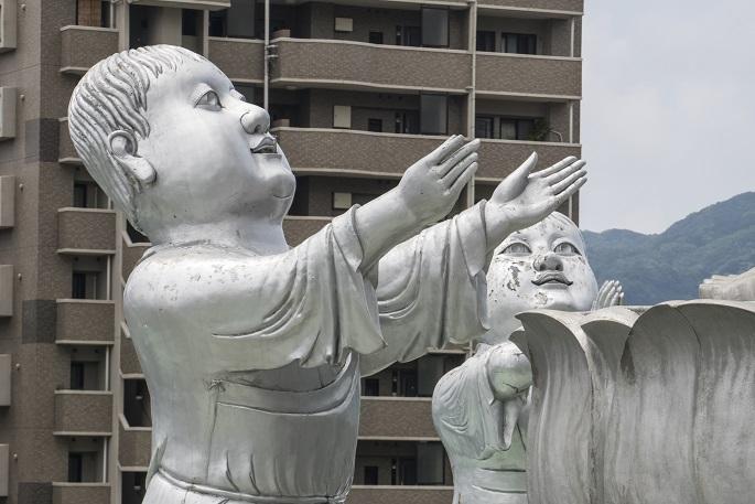 福済寺(長崎市筑後町)の長崎観音と童子