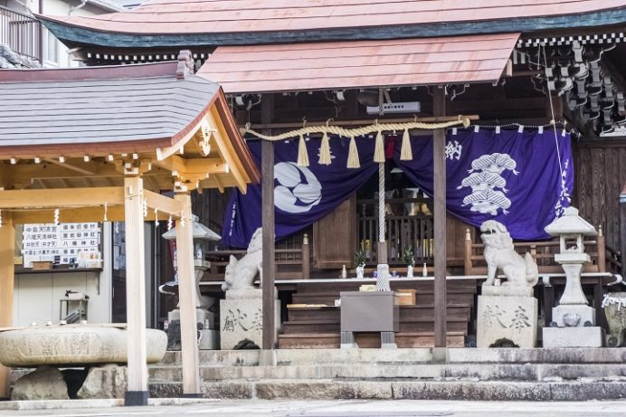 宮地嶽八幡神社(長崎市八幡町)、初詣