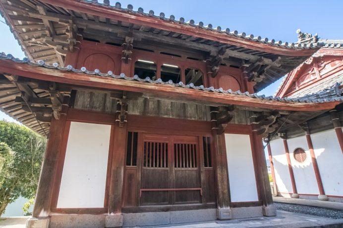 崇福寺(長崎市鍛冶屋町)の鐘鼓楼
