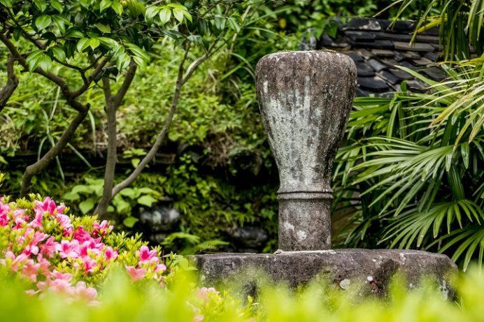 万寿山 聖福寺(長崎市玉園町)、茶筌塚