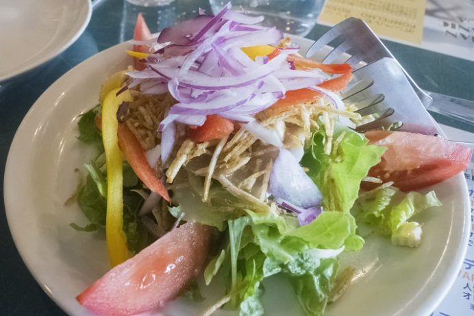 海カフェ&レストラン コスタ九十九島(佐世保市鹿子前町 九十九島パールシーリゾート内)のコスタオリジナルサラダ
