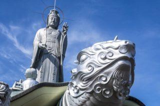 【高さ34mの巨仏!大亀に立つ長崎観音】「福済寺」~御朱印情報あり