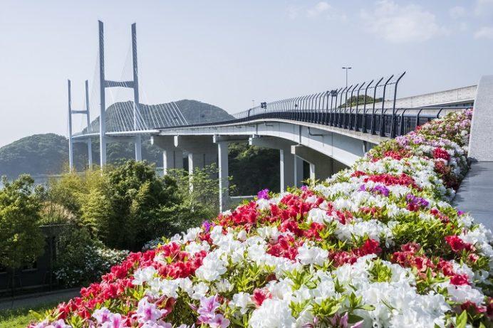 女神大橋(長崎市西泊町)