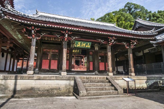 崇福寺(長崎市鍛冶屋町)の媽祖門