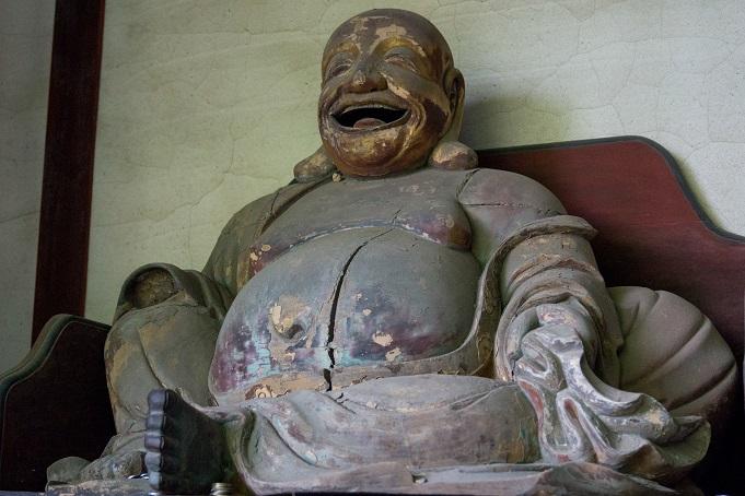 万寿山 聖福寺(長崎市玉園町)、天王殿、弥勒菩薩坐像